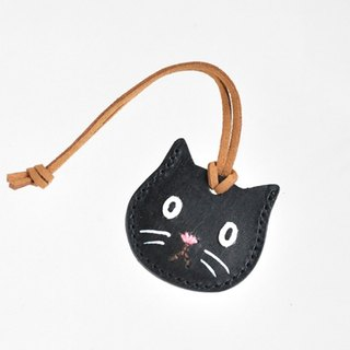 """Wallet charm"" which can store about 2 coins-Black cat"
