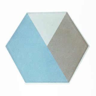Japan KAMOI mt CASA sheet Hexagon and paper stickers [color block (MT03WSH002)]