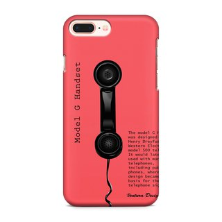 Rose telephone Phone case