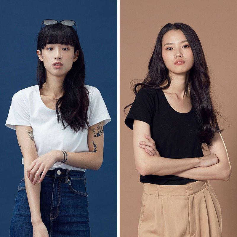 Classic Women | 重磅純棉短袖 (黑白兩色)