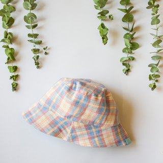 My little star job hand made Dorothy's rainbow organic cotton double-faced fisherman hat