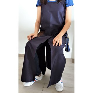 Pottery Apron (Dark Blue)
