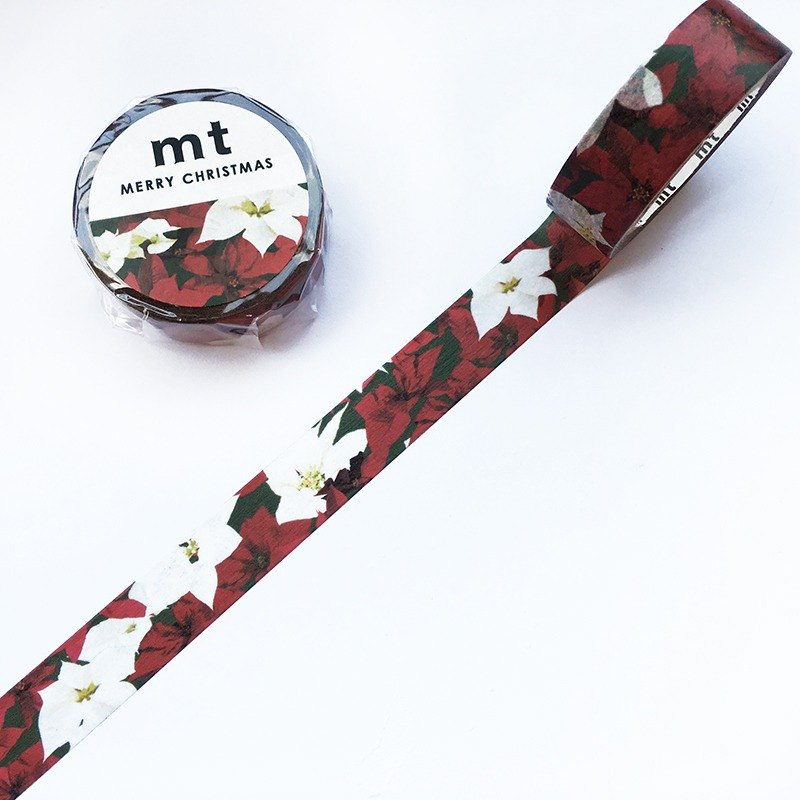 mt Masking Tape Christmas 2017【Poinsettia (MTCMAS82)】
