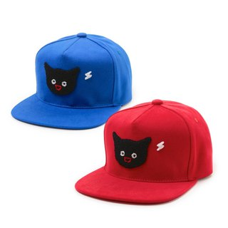Cats want to call you - baseball cap - red / blue