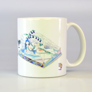 Tiger sheep - Virgo / 12 constellation illustrations mug