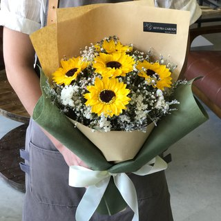 璎珞 Manor * Not Withered. Immortal Flower / Gypsophila Bouquet / G107 / Valentine's Day Bouquet / Sunflower Bouquet