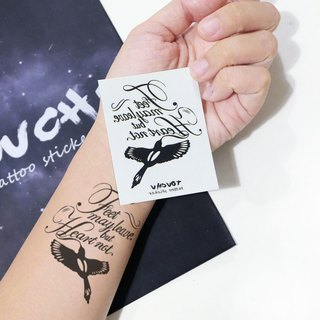 TU Tattoo Sticker - Flying Swallow / Tattoo / waterproof Tattoo / original / Tattoo Sticker