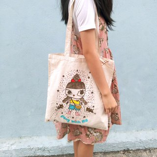 Hong kong design Namly Play with me hand drawing tote bag/canvas