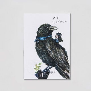 {BIRDER} Series - Crow