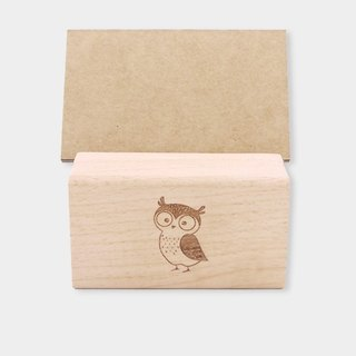 [small box] wooden business card holder / mobile phone holder M_ pattern version / gift / corporate gifts / graduation gift