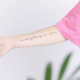 Surprise Tattoos -  Writing Temporary Tattoo