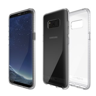 Tech21 UK Shockproof Pure Clear Samsung S8 + Anti-collision Hard Clear Protection Case (5055517376082)