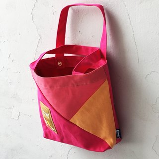 Mixed colors Tote (pink)