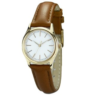 Ladies Minimalist Watch with thin stripes Rose Gold  Free Shipping Worldwide