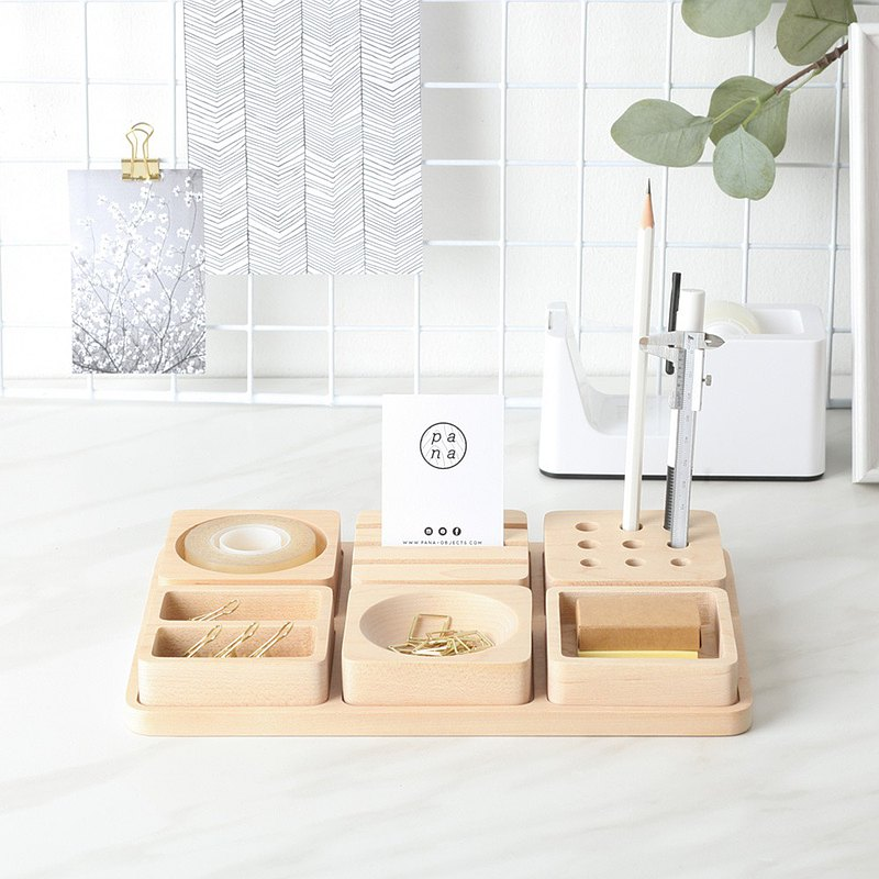 [manual] Pana Objects Tofu Building L-Stationery Storage Tray
