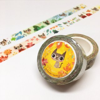 And paper tape / Old Lady and the Seasons Keke December Zodiac paper tape