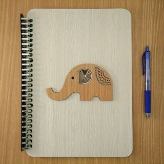 Taiwan stack [customization - color and pattern can be replaced] B5 two loose-leaf 26 hole notebook - elephant notebook / album / stationery / folder / gift / gifts