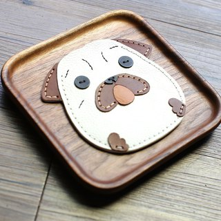 Seriously Bagel handmade leather ID card / leisure card / ID card holder
