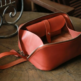 Toiletry Bag, Traveller Dopp Kit, Handmade Cosmetic Case