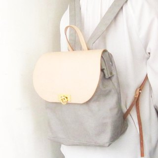 **Marble Gray**canvas doctor backpack