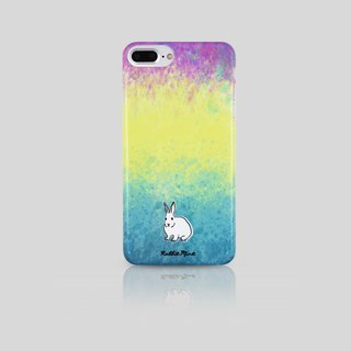 (Rabbit Mint) Mint Rabbit Phone Case - Watercolor Rabbit Series - iPhone 7 Plus (P00081)