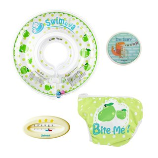 Goody Bag - Swimava baby swimming collar / swimming trunks / hook / thermometer four into the group
