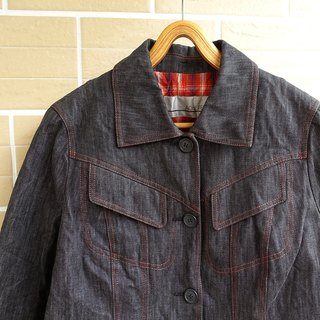 │Slowly │ retro cut - ancient cowboy jacket │ vintage. Japanese system. Retro.