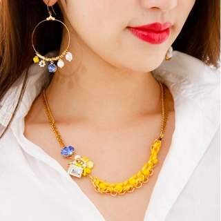 [Luce Costante] Giallo necklace / LCW-1615