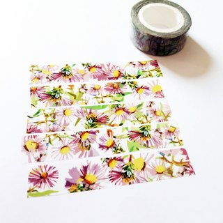 Masking Tape Aster Fabric