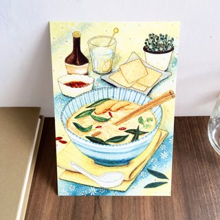 Postcard- Thai noodles