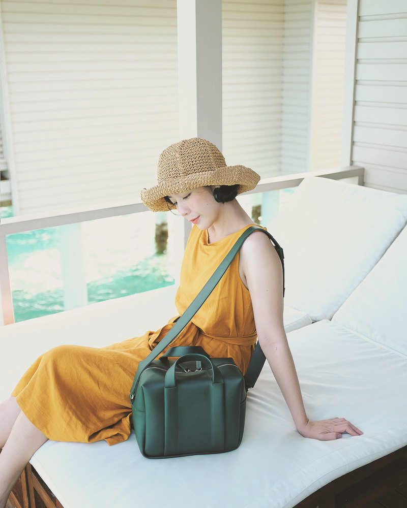 Whiteoakfactory Cubie shoulder bag - Green