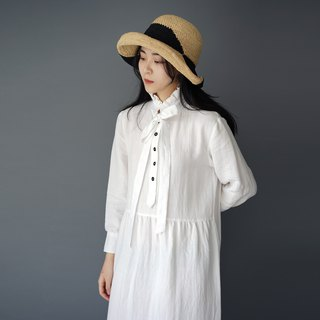 Loose Cotton One-piece