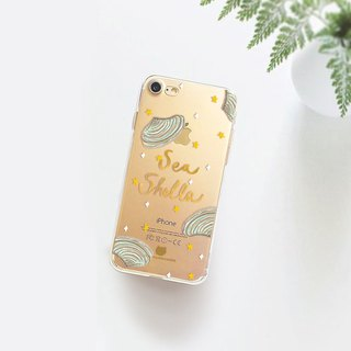 Seaweed clear phone case iPhone 8plus Case ASUS Zenfone 4 max Samsung c9 pro
