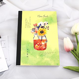 B6 / 32K Recycled Paper Blank Letters / Notes / Notepad (with tear-off note)