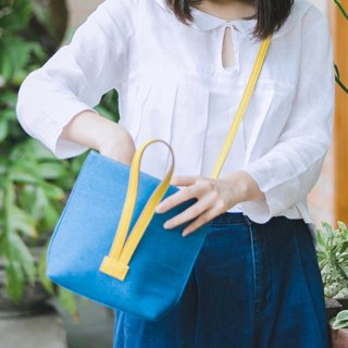 || Mini Hand Bag || Sky Blue