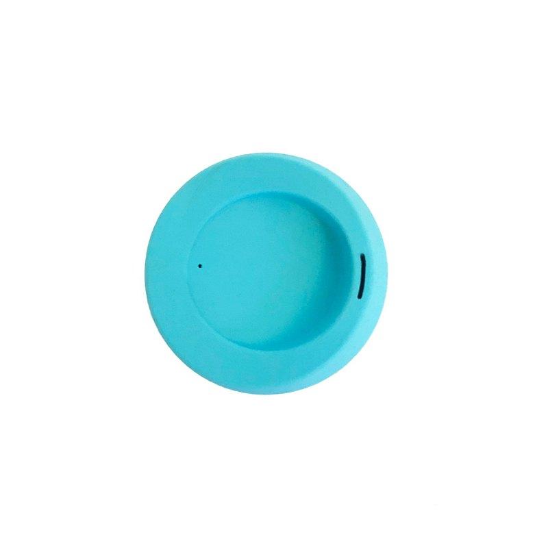 【美國GoSili/Silikids 鉑金矽膠】TOGO咖啡隨行杯蓋(天空藍)