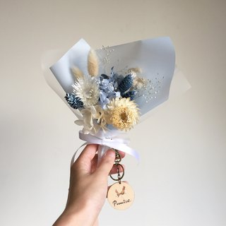 Cloud walk dry eternal bouquet + key ring group (custom)