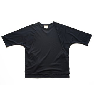 Japanese paper fiber Lachlan sleeve pocket T-shirt