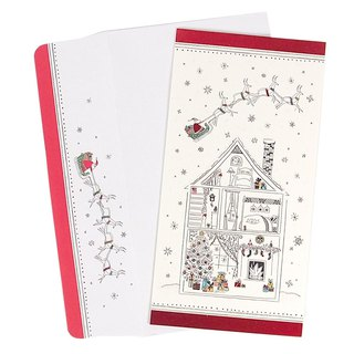 House Graffiti Style Christmas Box Card 16 [Hallmark-Card Christmas Series]
