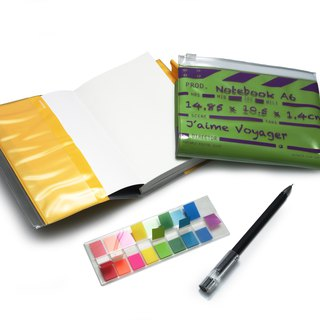 Director Clap journal jotter A6 - Green