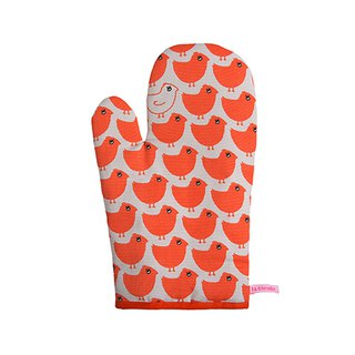 Kitchen Good Time Insulation Gloves Minipoussin Rouge