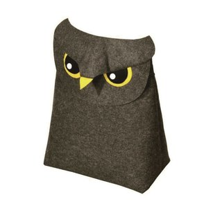 KOMPIS | Nordic Wind Cute Animal Shaping Bag - Owl / Toy Clothes Diaper Storage