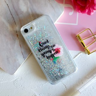 PATTERN LAB | Liquid Glitter Case for iPhone 6/6S/7/8 - Good Things