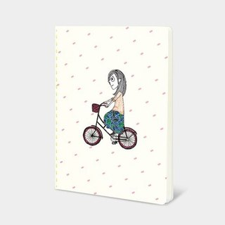 Dorothy 32K color car suture Notebook - bike (9AAAU0024)