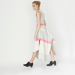 Origami Sleeveless Midi Dress <Handmade in Italy>