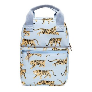 Petit Monkey, the Netherlands - Environmentally Friendly Grey Tiger Tiger Backpack - S