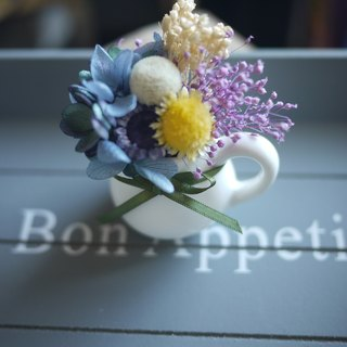 Preserved milk cup small flower / Preserved flowers