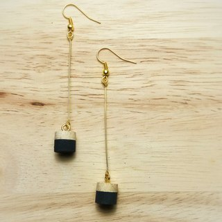 Wooden Earring No.4