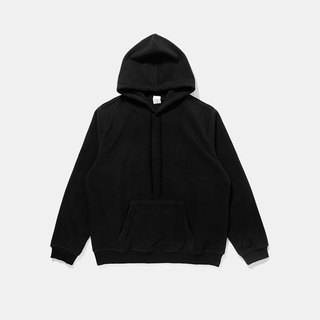 Fleece hooded T-shirt :: Black:: Pre-order offer 10/21 deadline