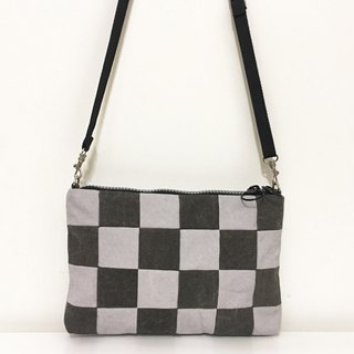 Square Packet - Stylish Gray Black